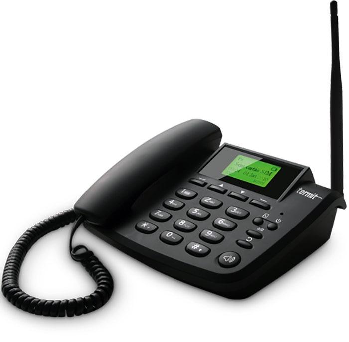 Телефон Termit FixPhone v2 rev.4, черный