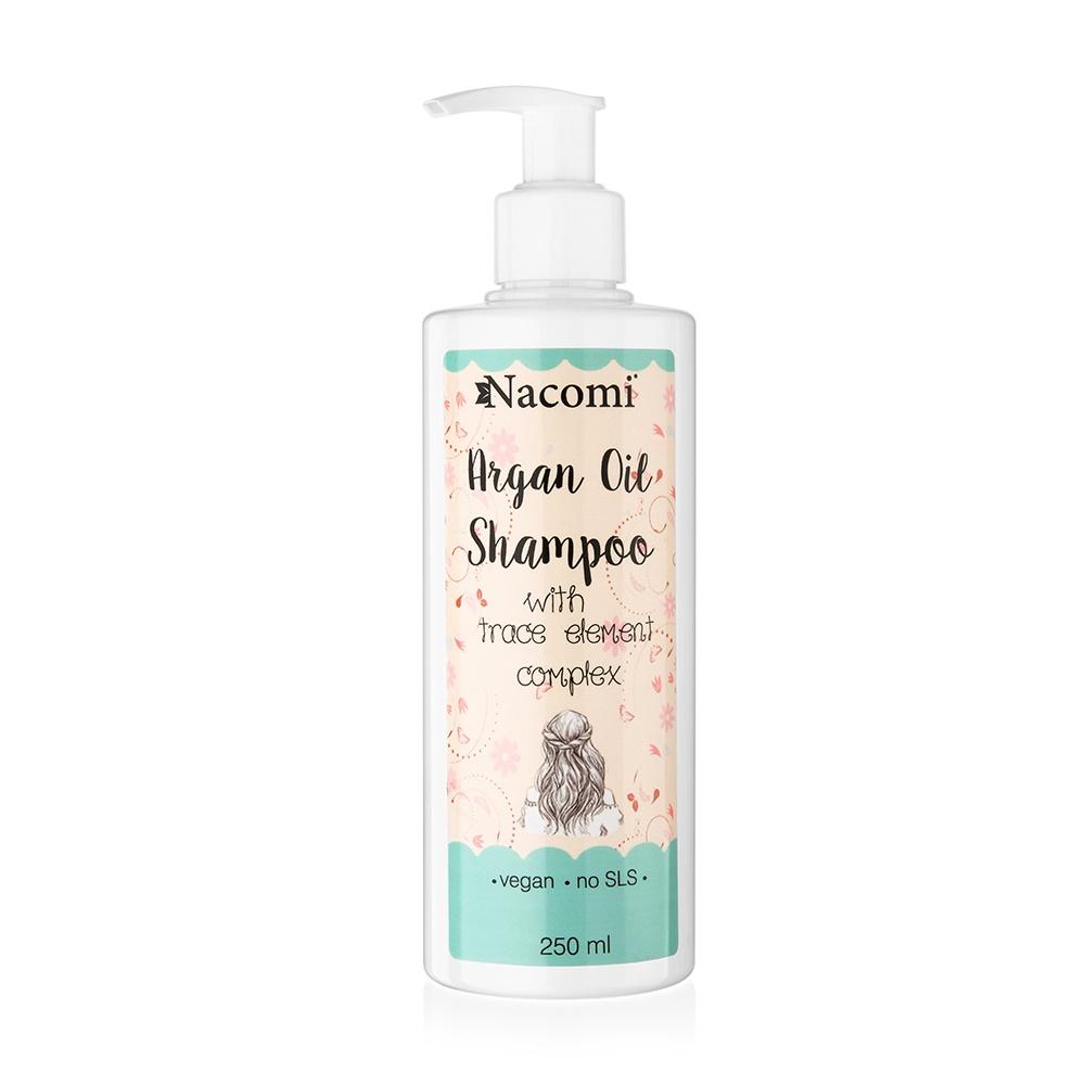 Шампунь для волос Nacomi Argan Shampoo, 250 мл