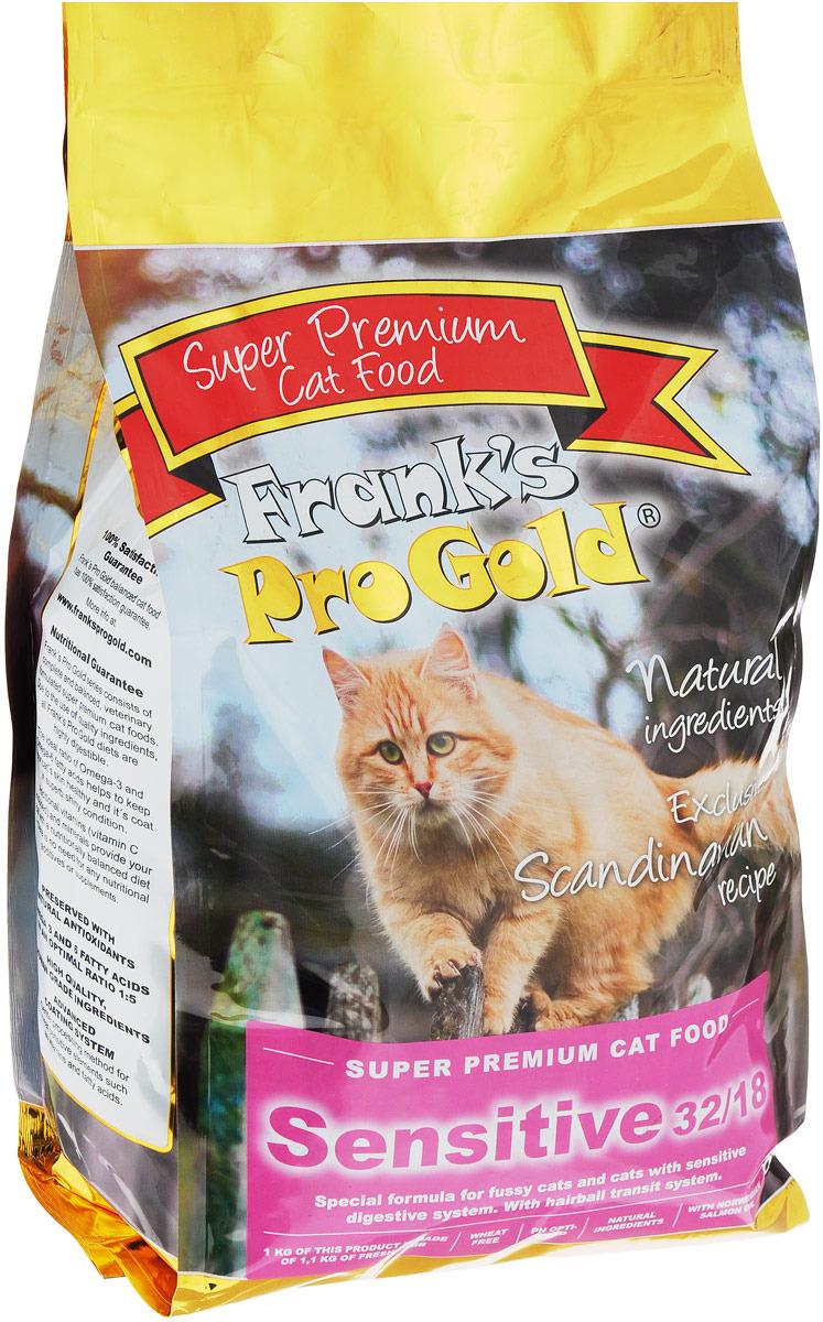 """Корм сухой """"Frank's ProGold"""" для чувствительных кошек, с ягненком по-голландски, 3 кг"""