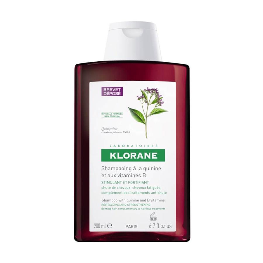 Шампунь Klorane с экстрактом хинина и витамином B укрепляющий 403636, 200 мл клоран с хинином купить