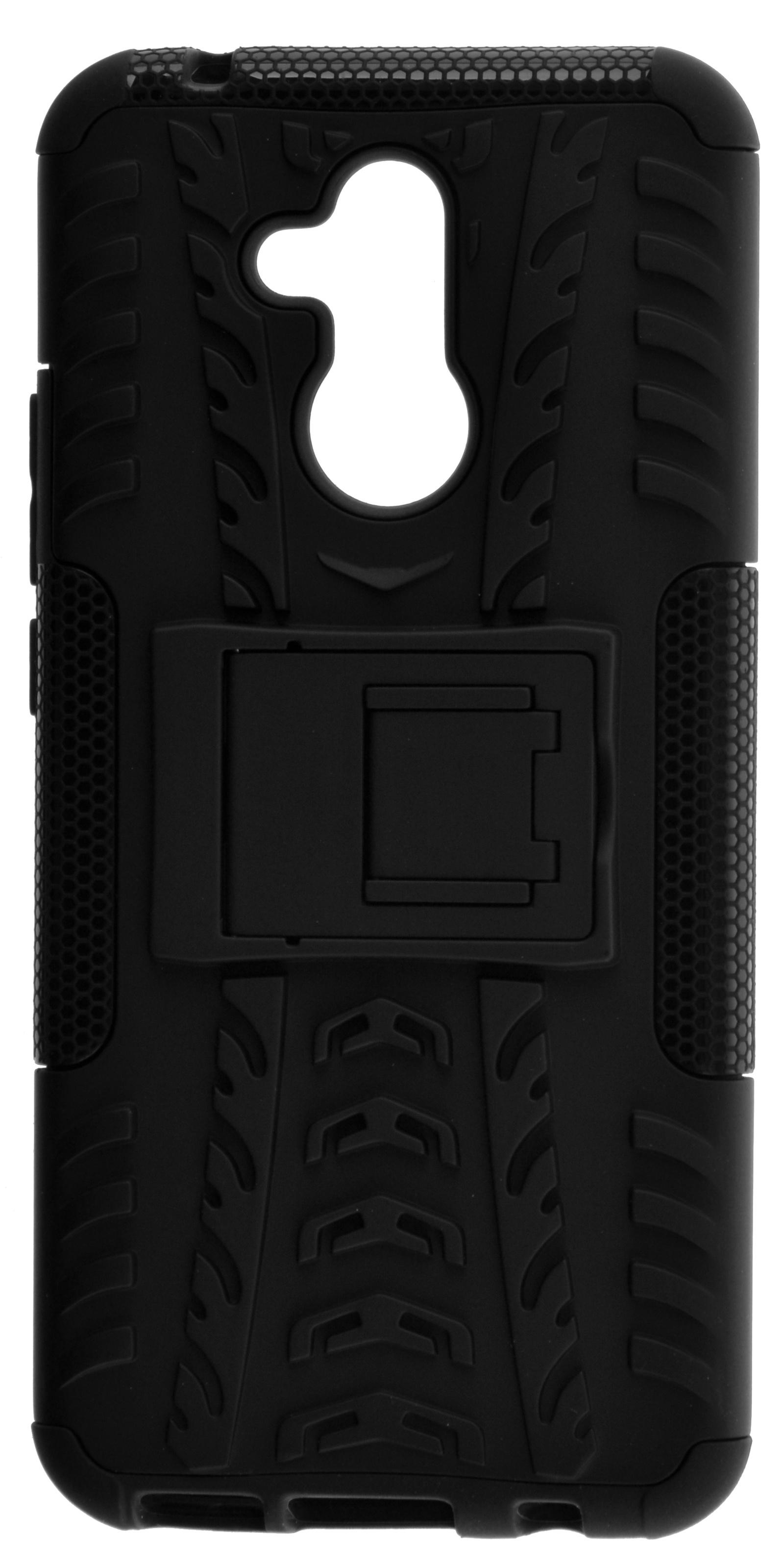 Накладка skinBOX Defender case для Huawei Mate 20 Lite, 4630042521391, черный смартфон huawei mate 20 lite 64 гб черный 51092qtt