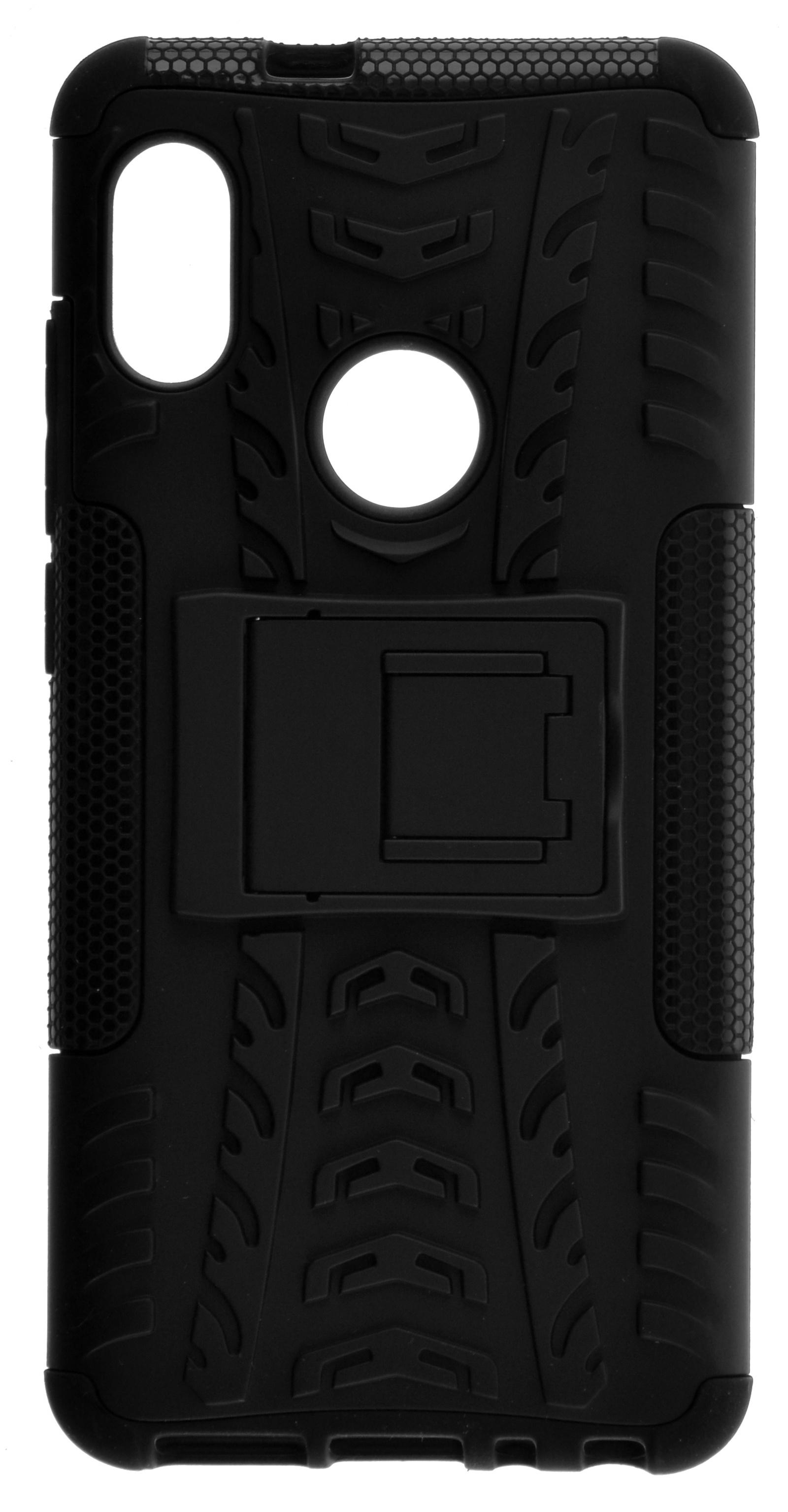 Накладка skinBOX Defender case для Xiaomi Redmi Note 5, 4630042522367, черный чехол skinbox xiaomi redmi note 3