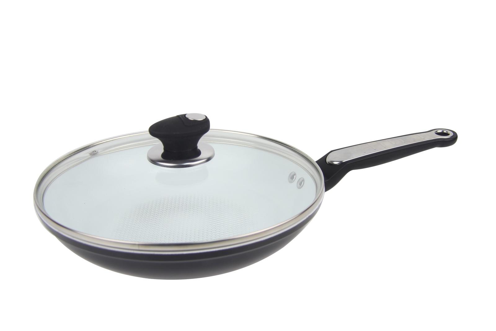Сковорода Bohmann BH-7822, диаметр 22 см, черный сковорода bohmann 28cm bh 1010 28mrb