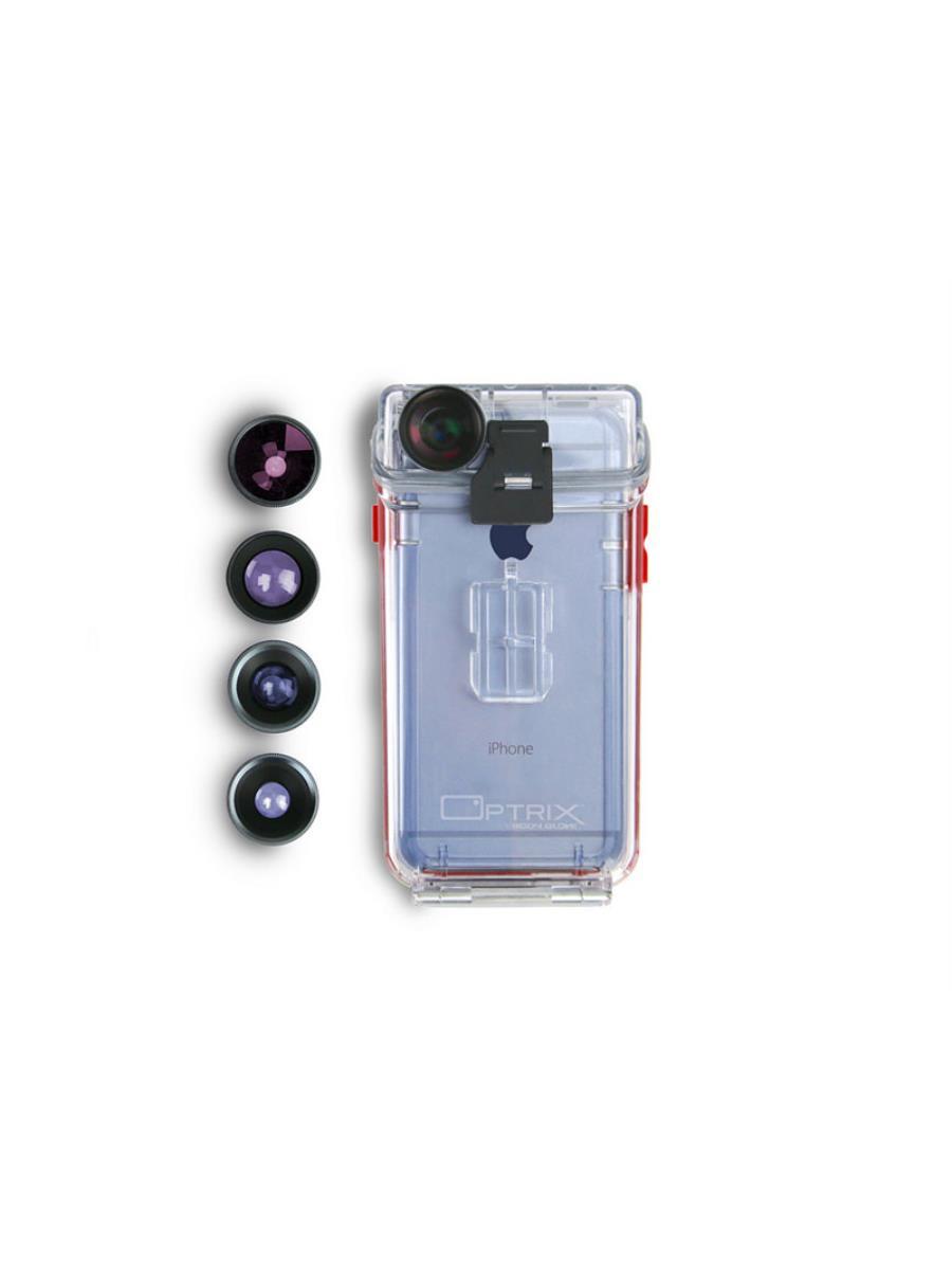 цены на Чехол Optrix Photo Pro для iPhone 6/6S, 43859699421, прозрачный  в интернет-магазинах