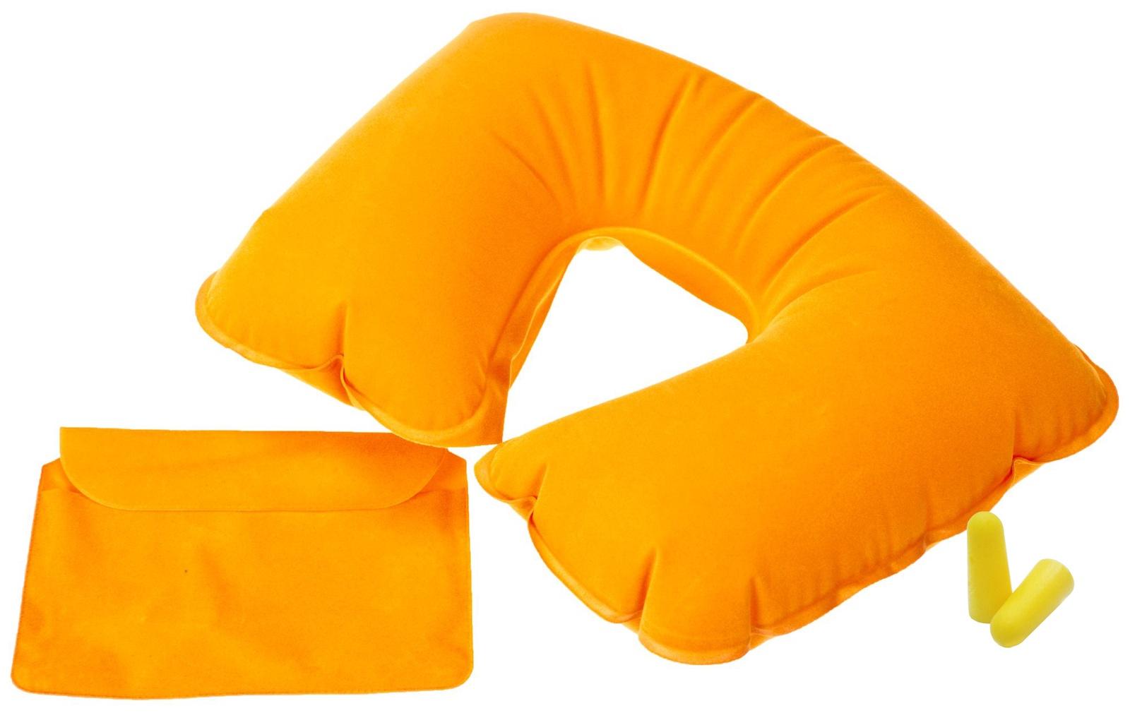 Подушка для шеи Дерево Счастья Долгая Дорога, оранжевый подушка для шеи дерево счастья долгая дорога желтый