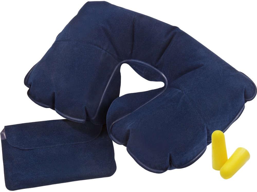 Подушка для шеи Дерево Счастья Долгая Дорога, синий подушка для шеи дерево счастья долгая дорога желтый