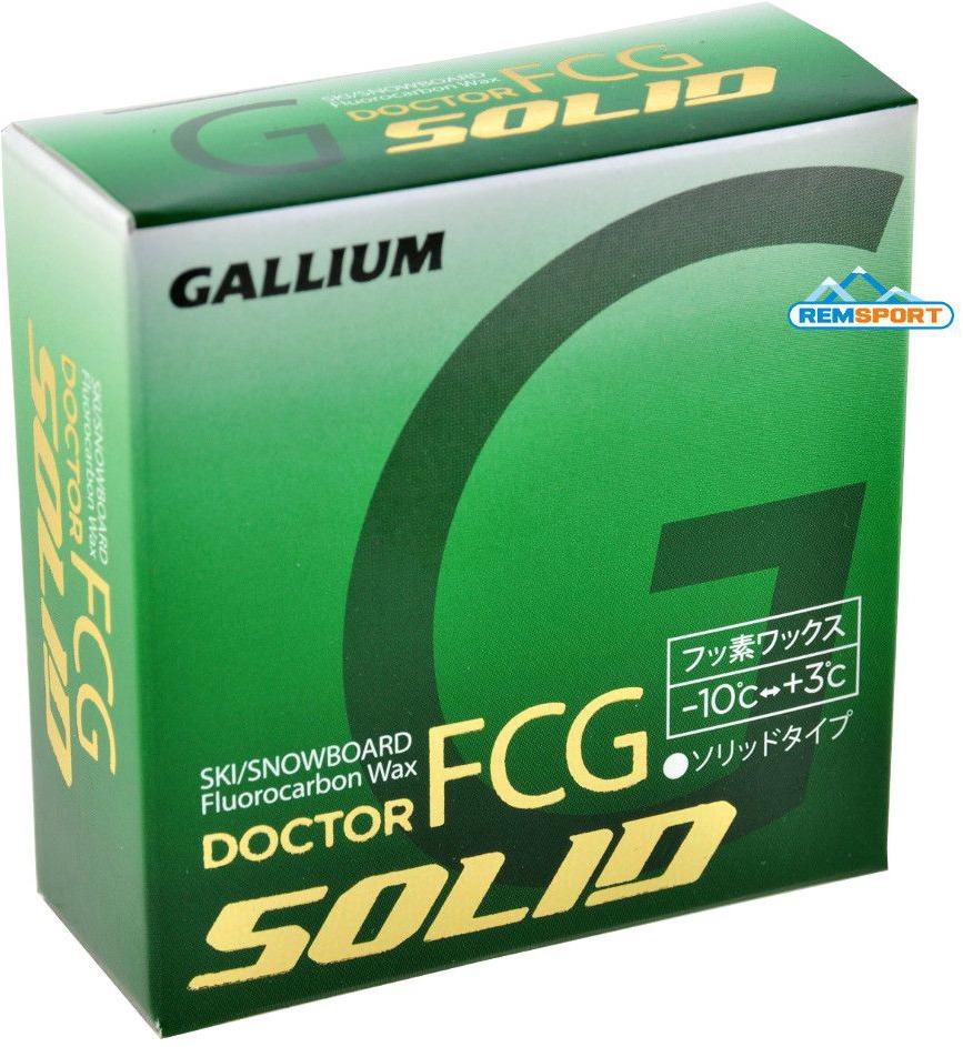 Фторовая спрессовка Gallium Doctor FCG-5 Solid, DR2005, -10...+3°С, 5 г высокофторовый парафин gallium hybrid hf blue sw2151 3 12°с 50 г
