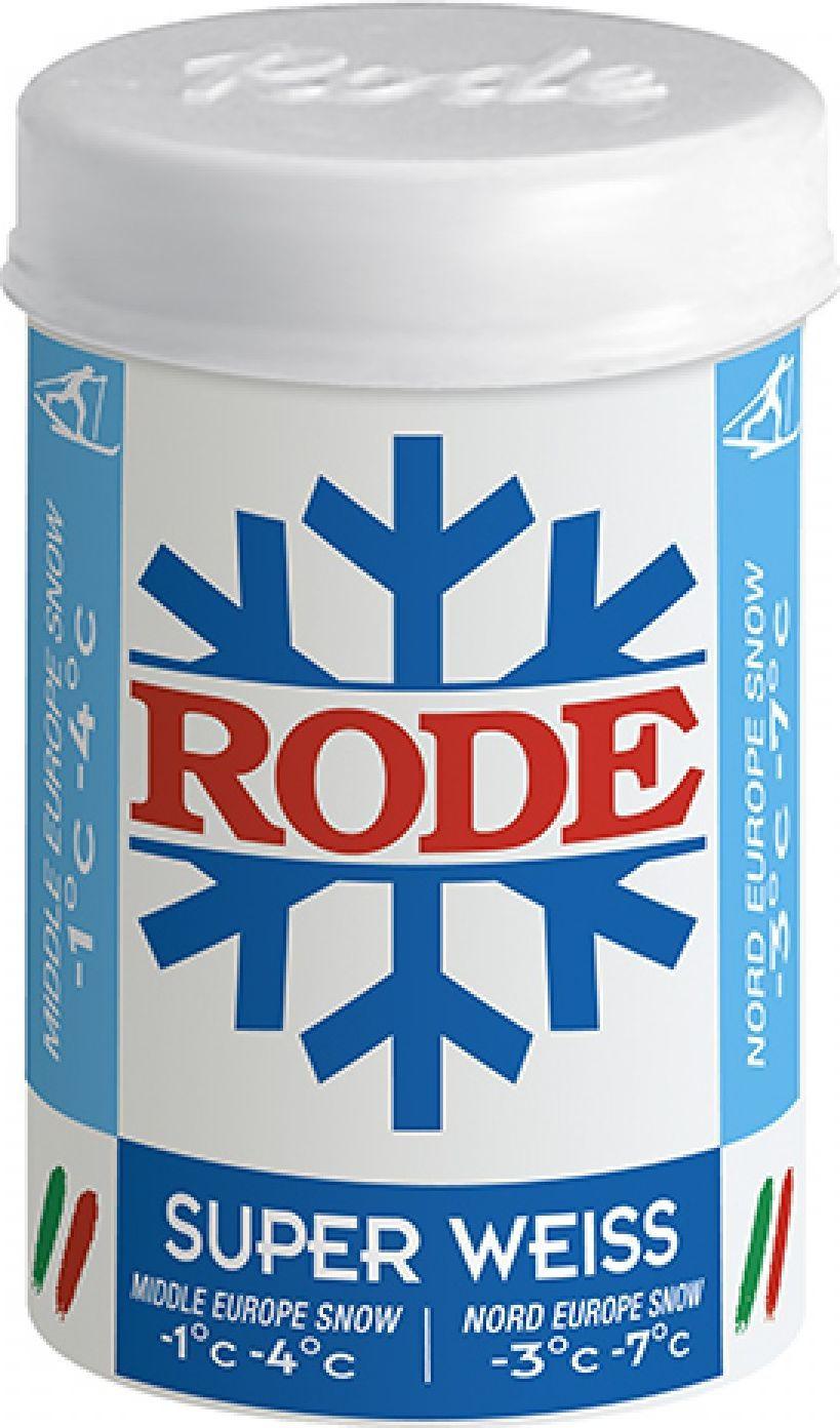 Мазь держания Rode Blue Super Weiss, P28, твердая, -1...-4 °С, 45 г мазь для кожи f