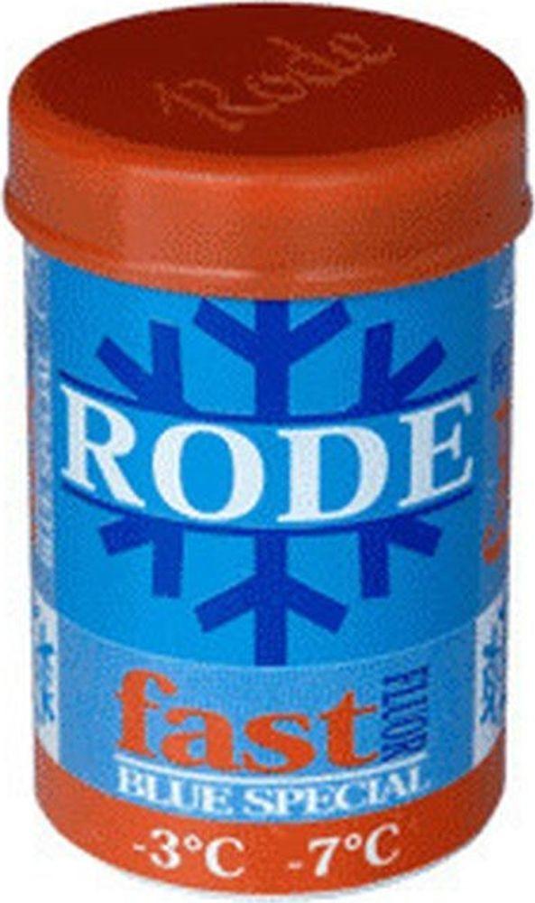 Мазь держания Rode Blue Special, FP36, твердая, фторовая, -3...-7 °С, 45 г