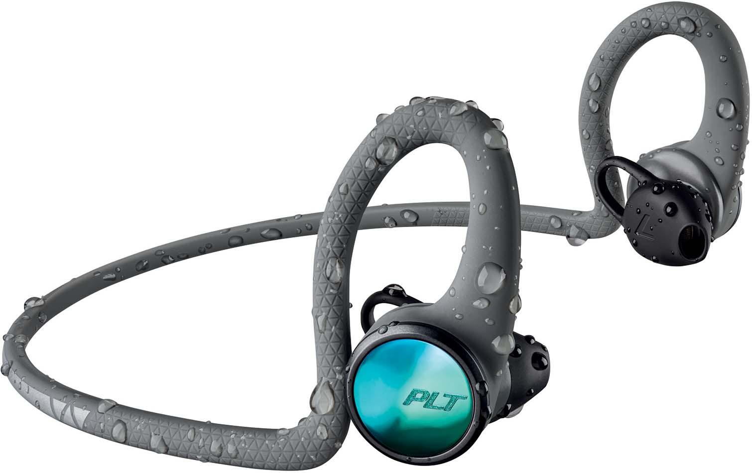 Беспроводные наушники Plantronics Backbeat Fit 2100, серый беспроводные наушники plantronics backbeat fit красные