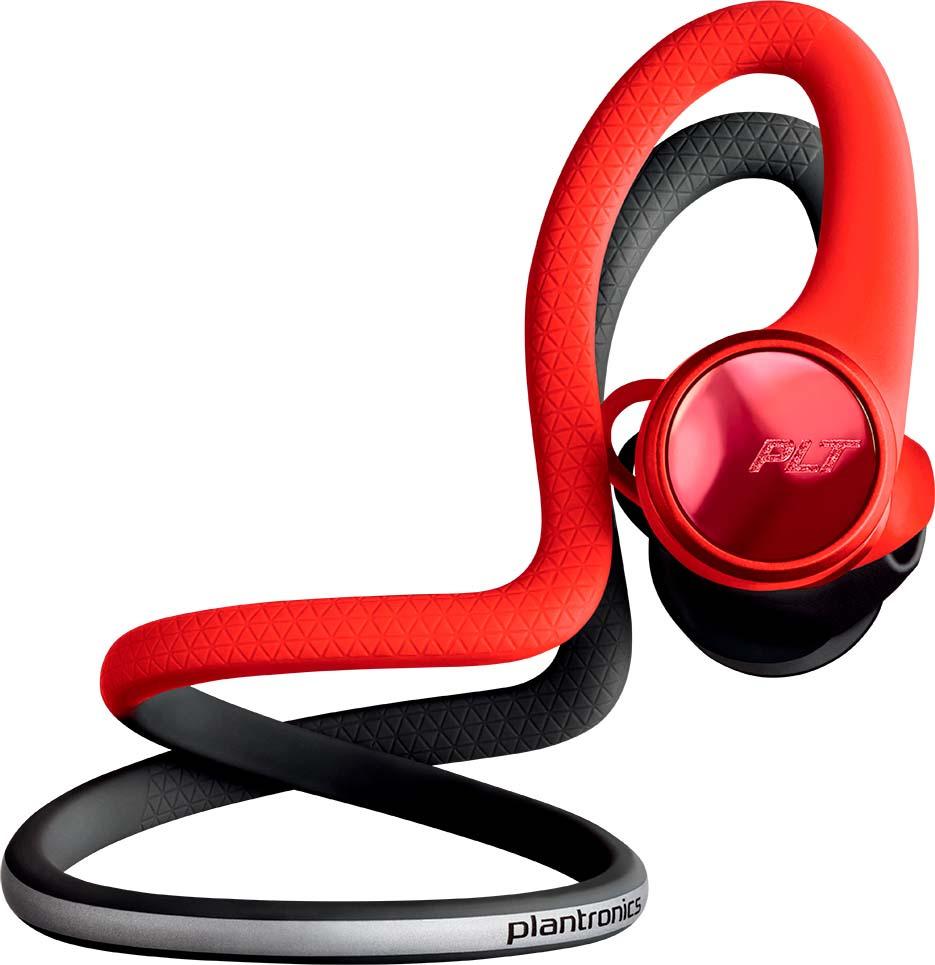 Беспроводные наушники Plantronics Backbeat Fit 2100, красный, черный беспроводные наушники plantronics backbeat fit красные