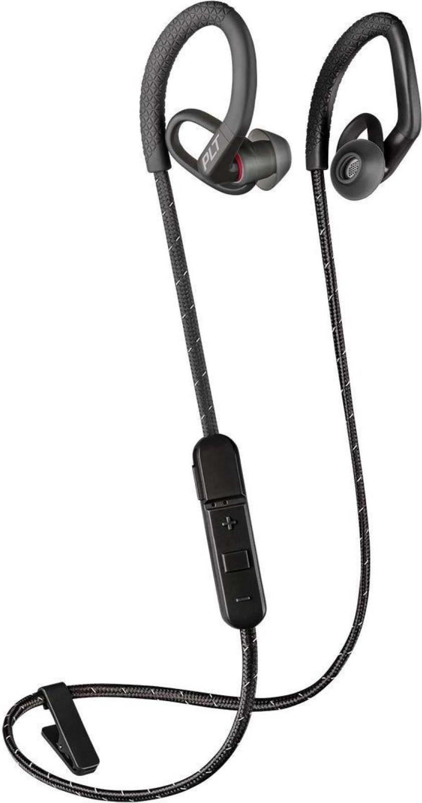 Беспроводные наушники Plantronics Backbeat Fit 350, черный