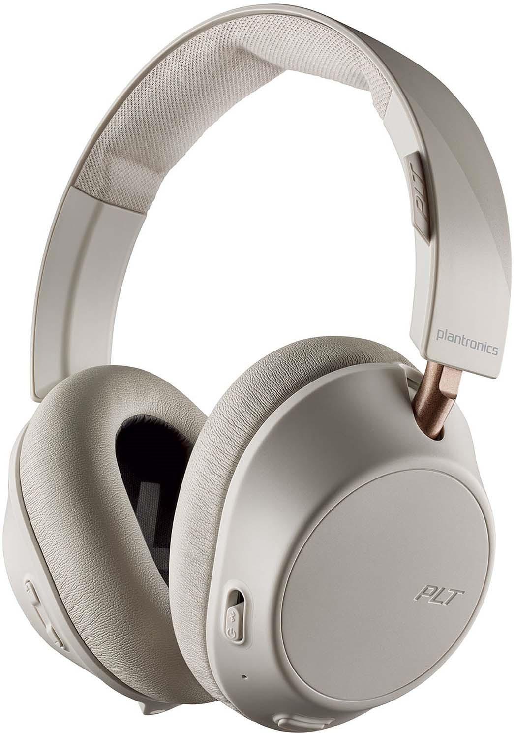Беспроводные наушники Plantronics Backbeat Go 810, белый цена и фото