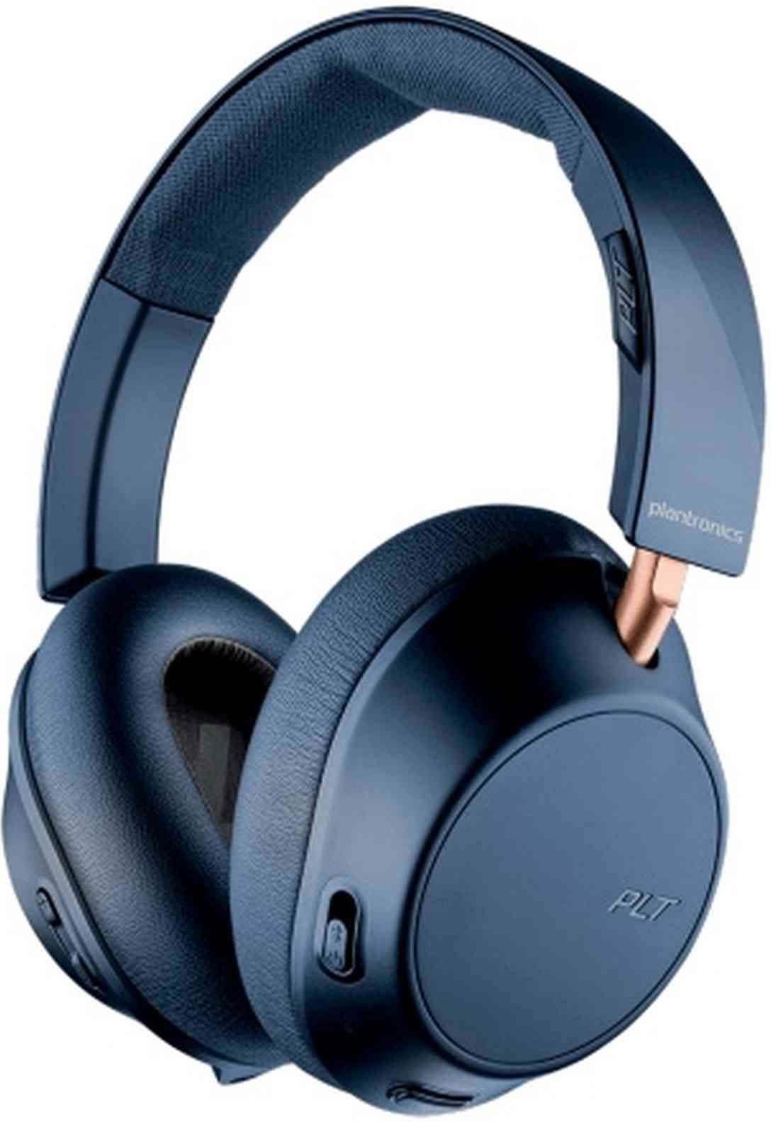 Беспроводные наушники Plantronics Backbeat Go 810, синий цена и фото