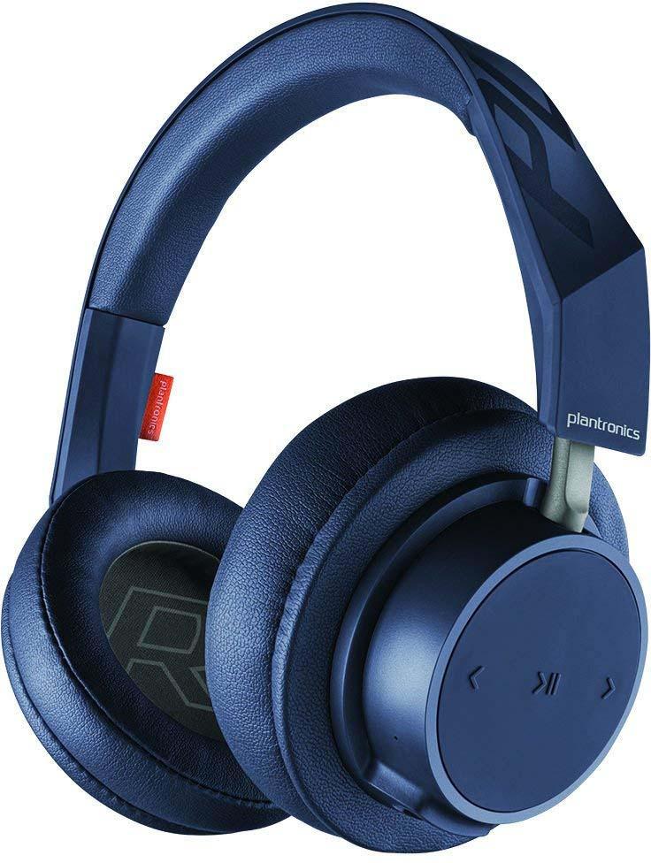 Беспроводные наушники Plantronics Backbeat Go 600, синий цена и фото