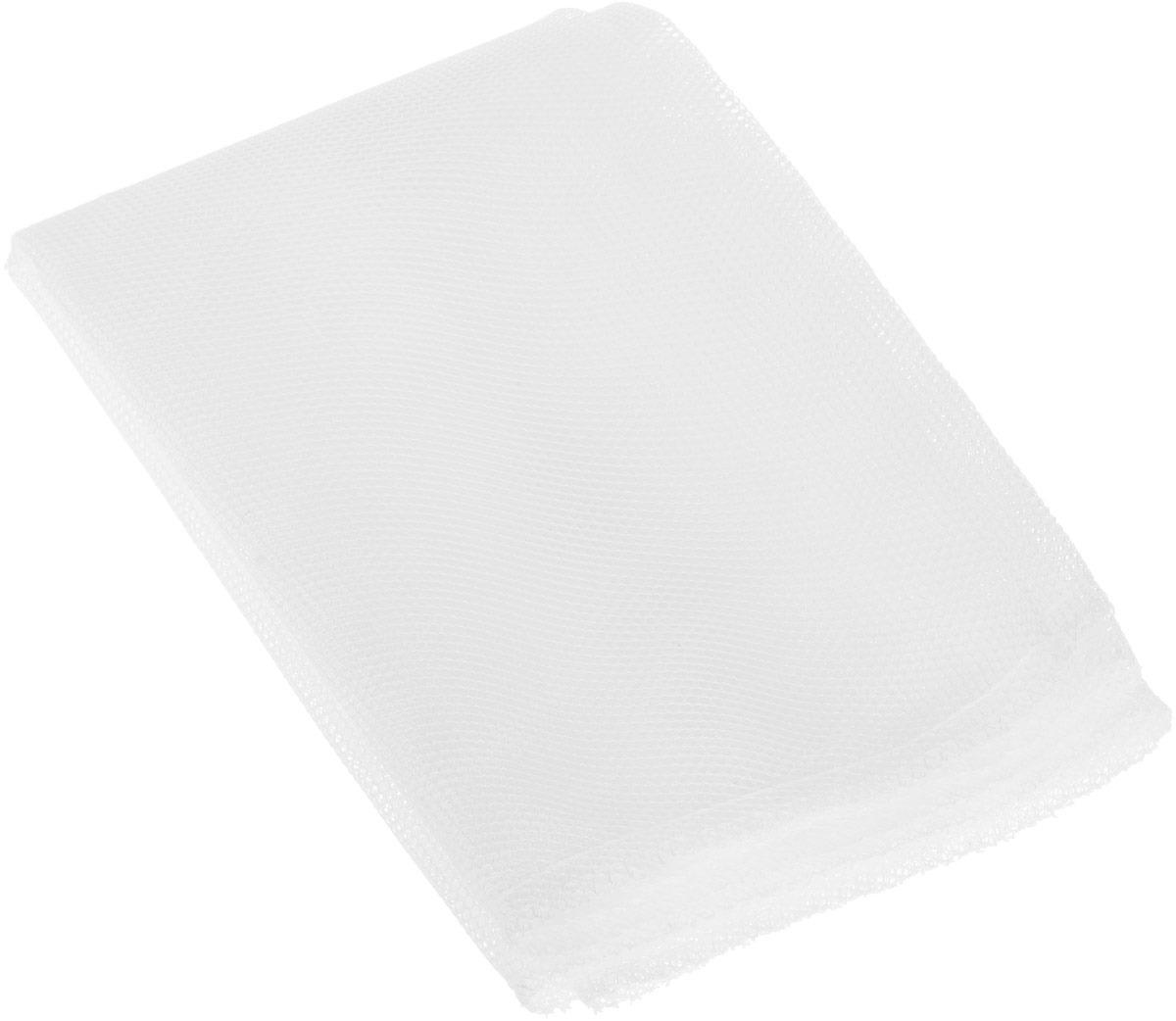 """Мешок для стирки белья Eva """"Макси"""" для стирки белья, на молнии, Е286, белый, 47 х 90 см"""