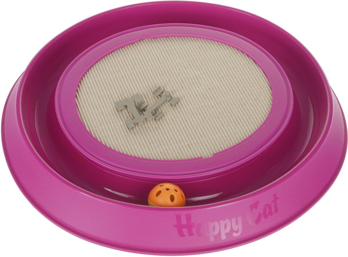 Когтеточка-игрушка для кошек Happy Cat, 10593, цвет в ассортименте игрушка для кошек beeztees мышь foxy в ассортименте