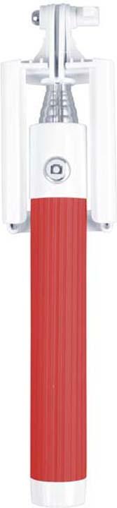 Монопод-мини для селфи Interstep MP-115B, красный монопод для селфи interstep mp 110b черный