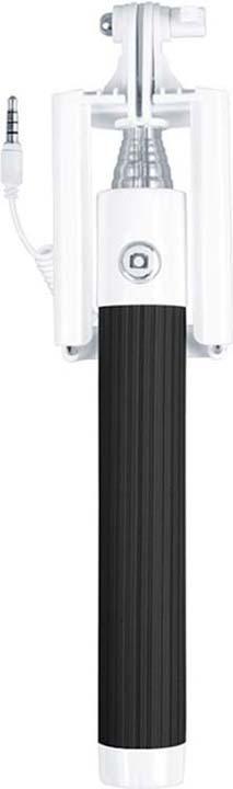 Монопод-мини для селфи Interstep MP-115A, черный монопод для селфи interstep mp 110b черный