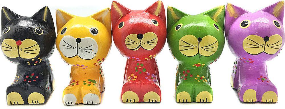Фигурка декоративная You'll loveВесенние коты, 73102, 4 х 4 х 10 см, 5 шт фигурка декоративная you ll loveкотики 73101 4 х 4 х 8 см 5 шт
