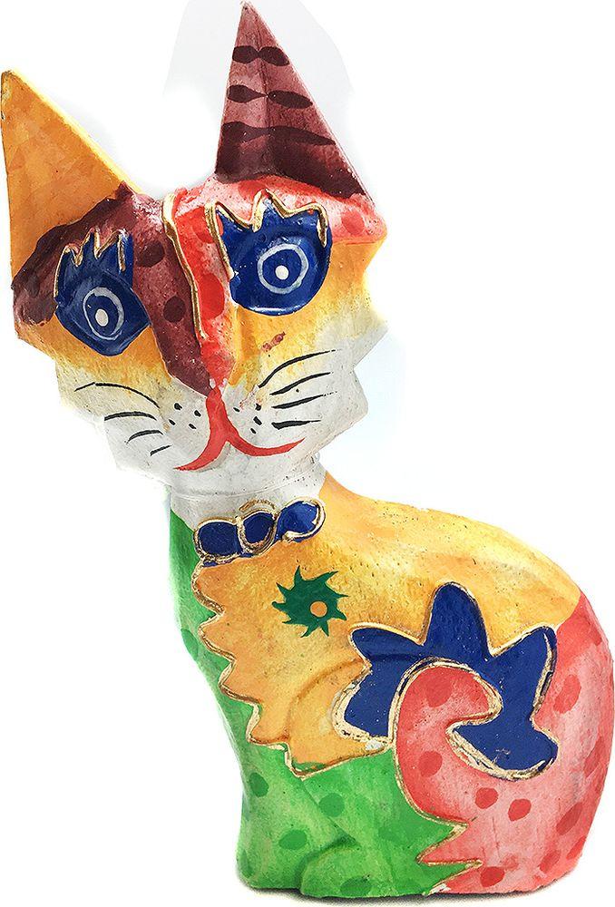 Фигурка декоративная You'll loveОгненная кошка, 73112, 8 х 4 х 17 см фигурка декоративная you ll loveкотики 73101 4 х 4 х 8 см 5 шт