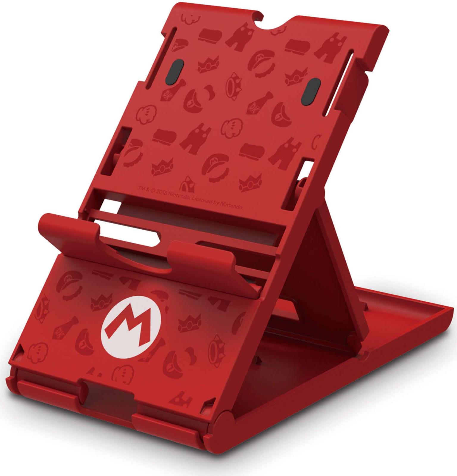 лучшая цена Подставка Hori Super Mario, для консоли Nintendo Switch, NSW-084U