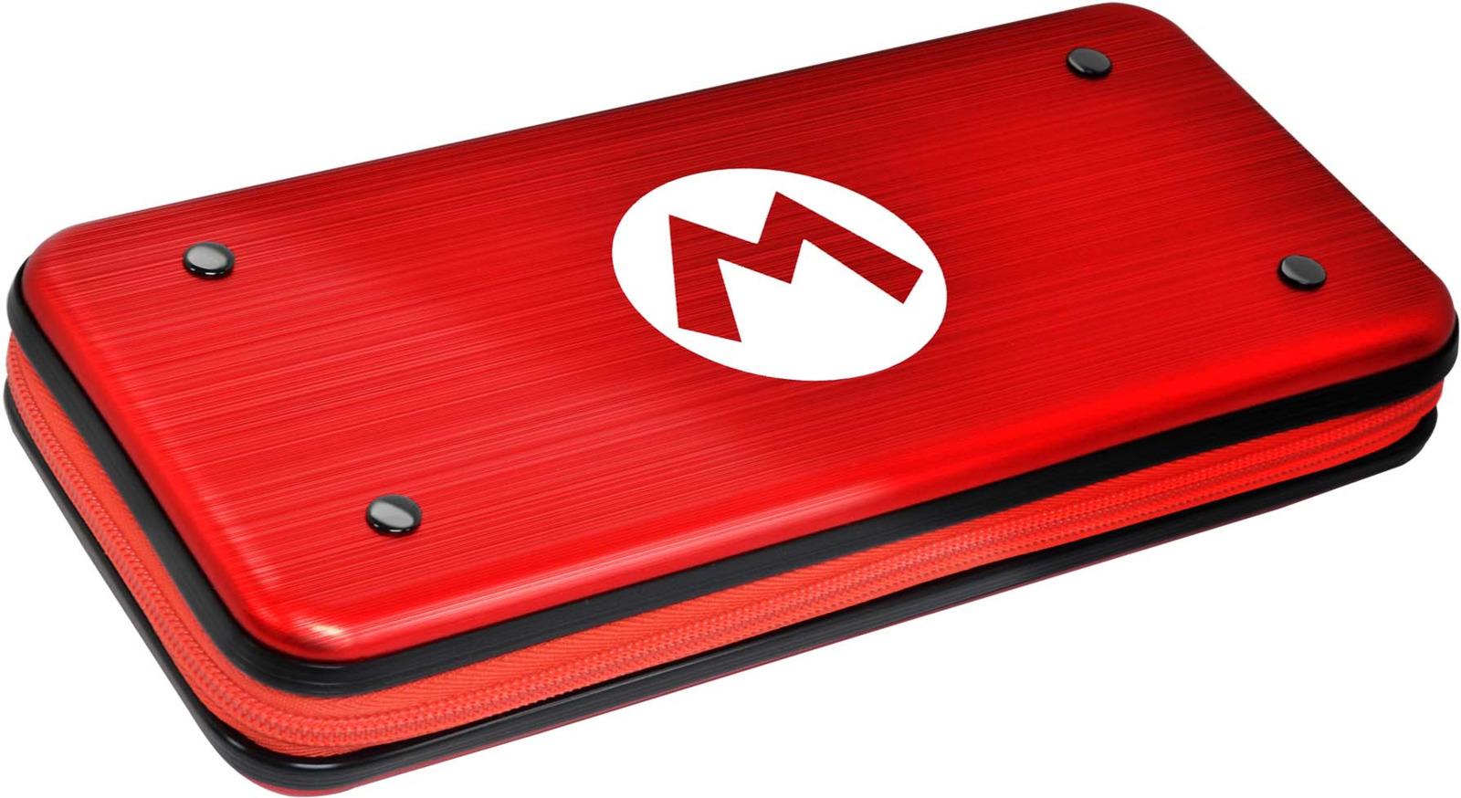 Защитный чехол Hori Mario, для консоли Nintendo Switch, NSW-090U игровая приставка new nintendo 2ds xl black turquoise super mario 3d land