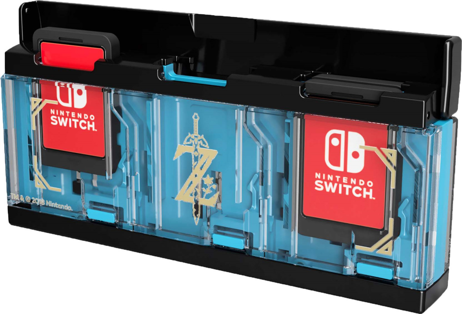 Кейс для хранения игровых карт Hori Zelda, для консоли Nintendo Switch, NSW-097U чехол hori nsw 074u для nintendo switch