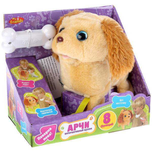 Интерактивная игрушка My Friends Щенок Арчи, 261892 интерактивная игрушка my friends щенок 260097