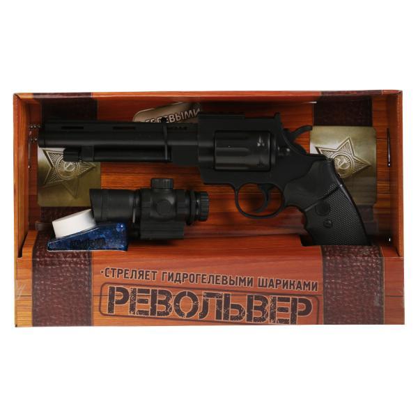 Ружье игрушечное Играем вместе РЕВОЛЬВЕР, 263047 черный ружье играем вместе ружье с шариками синий серебристый b1493578 r