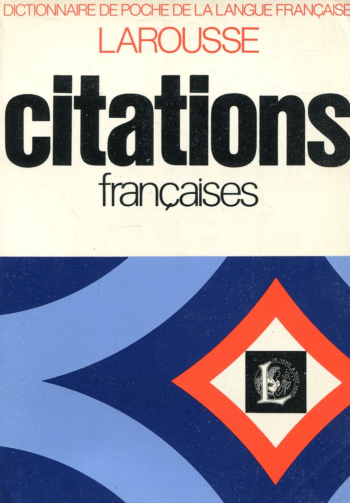 Книга Dictionnaire des citations francaises