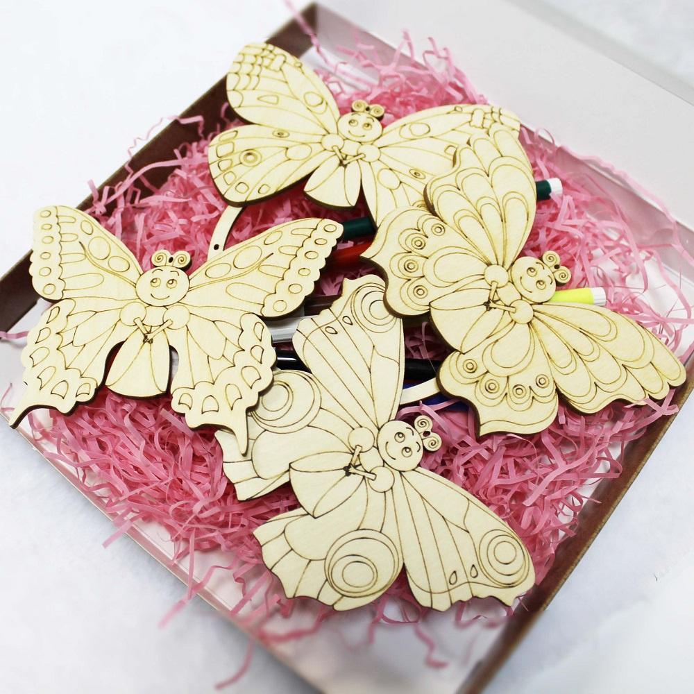 Набор для изготовления игрушки Стеша Бабочки наборы для рисования лавка чудес набор для раскрашивания надувной игрушки лошадка