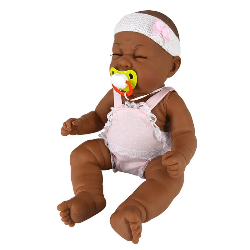 Пупс Munecas Manolo Dolls LLORON 48см (8043), 8043 кукла berbesa виниловая 42см пупс новорожденный 5110