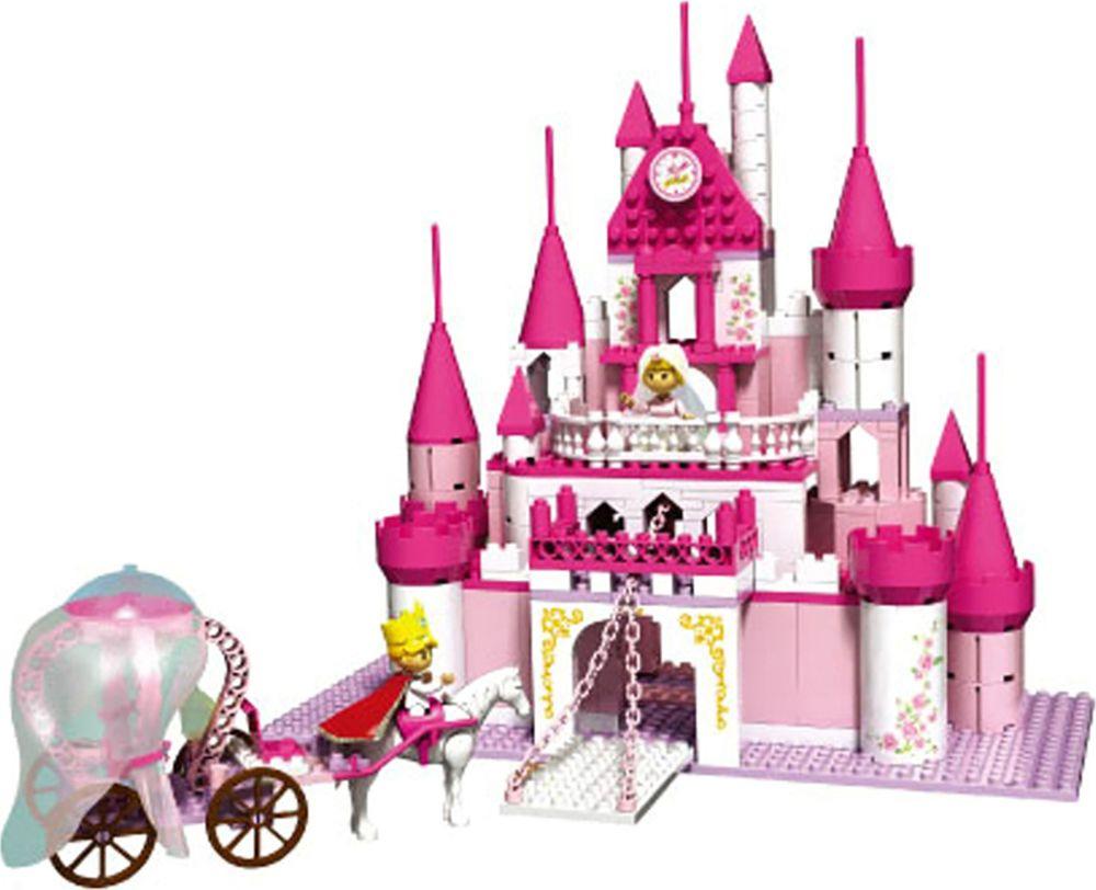 """Конструктор для девочки """"Замок принцессы"""", 117980"""