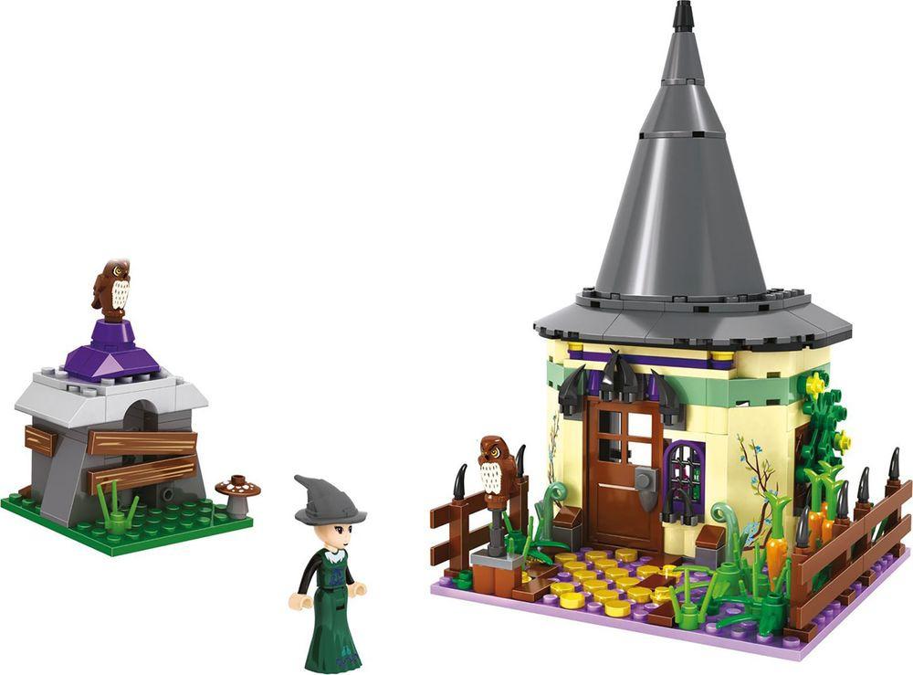 Конструктор пластиковый Замок колдуньи, 1157884, 236 деталей конструктор забияка замок колдуньи 1157884