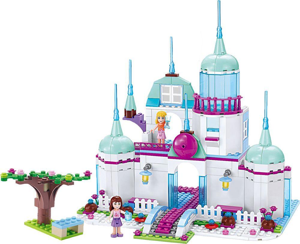 Конструктор Peizhi Принцессы: Замок, 2248152 конструкторы ecoiffier конструктор замок принцессы 29 5 29 36см 59 пр 1 5