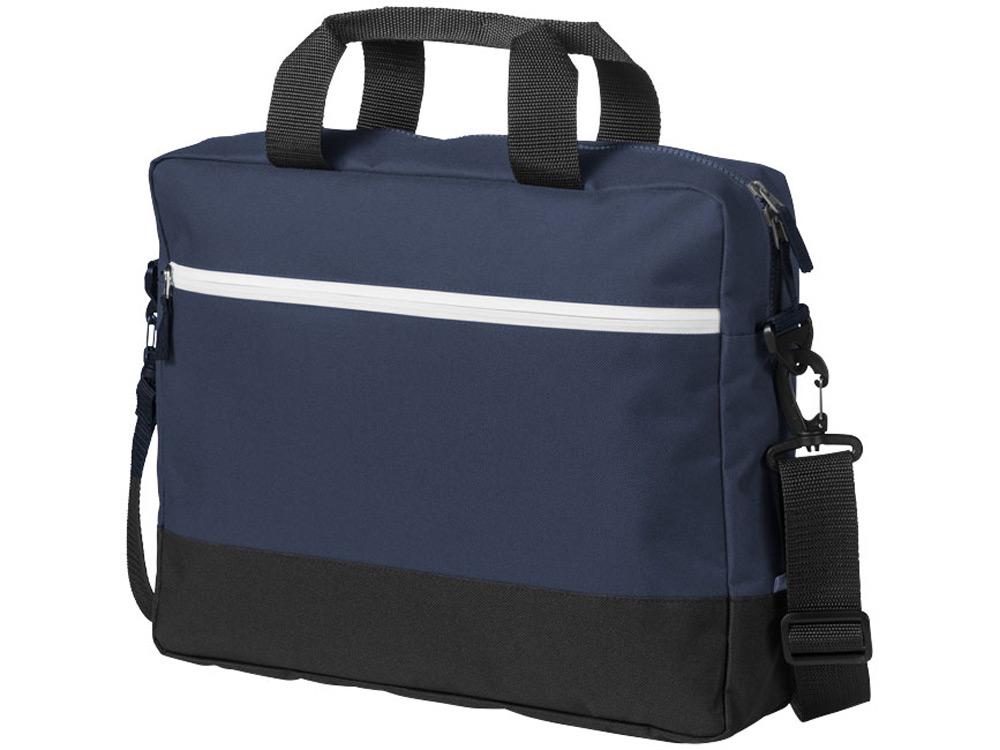"Сумка для ноутбука US Basic Oakland 14"", 12007202, синий"