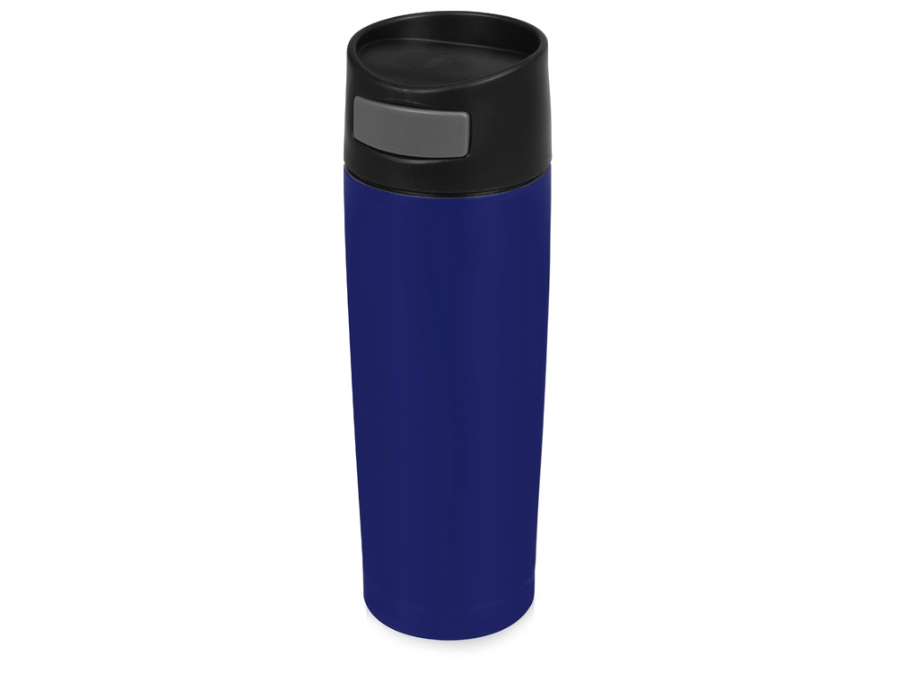 Термокружка Вакуум 450мл, синяя