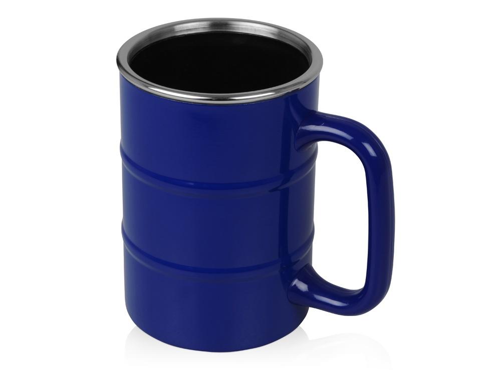 Кружка Oasis Кружка «Баррель», 821502, синий кружка 0 54 л french bull oasis hp rb p54f oasis