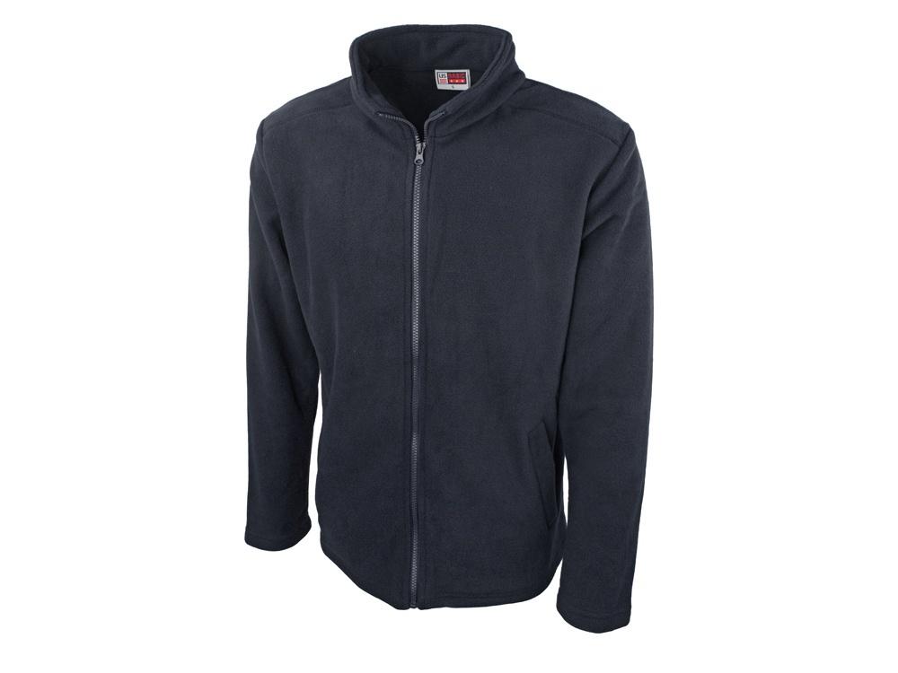 """Куртка US Basic, темно-синий 50 размер800049LФлисовая мужская куртка """"Seattle"""" изготовлена из 100% полиэстера микрофлиса, имеет стандартный покрой и застежку-молнию на всю длину. Есть боковые карманы для рук и разные расцветки.Флисовую куртку можно использовать практически круглогодично и для любой формы активного отдыха."""