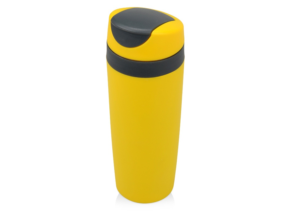 Термокружка Oasis Лайт, термокружка пластиковая, 840304, желтый