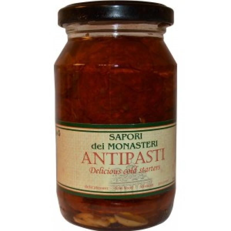 Сушеные помидоры в подсолнечном масле Sapori dei Monastery 100079, 250 мл