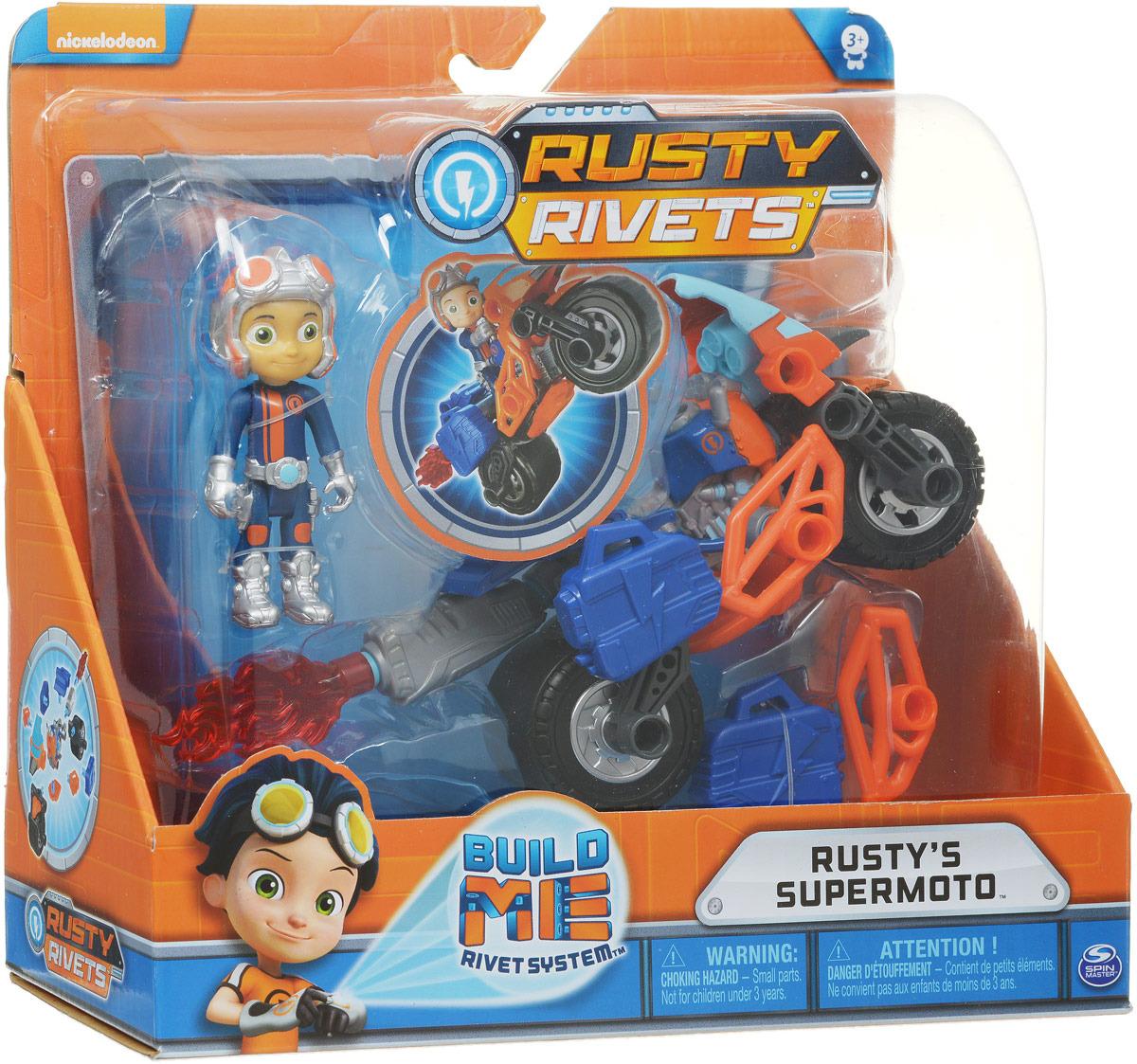 """Игровой набор Rusty Rivets """"Построй машину героя"""", 6044252_20101270"""