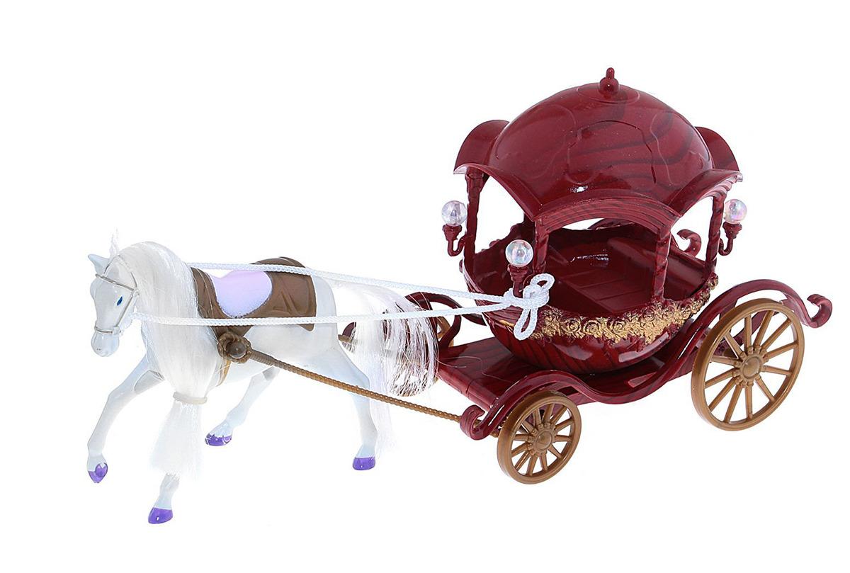 """Игровой набор с куклой """"Карета с лошадкой"""", 744454"""