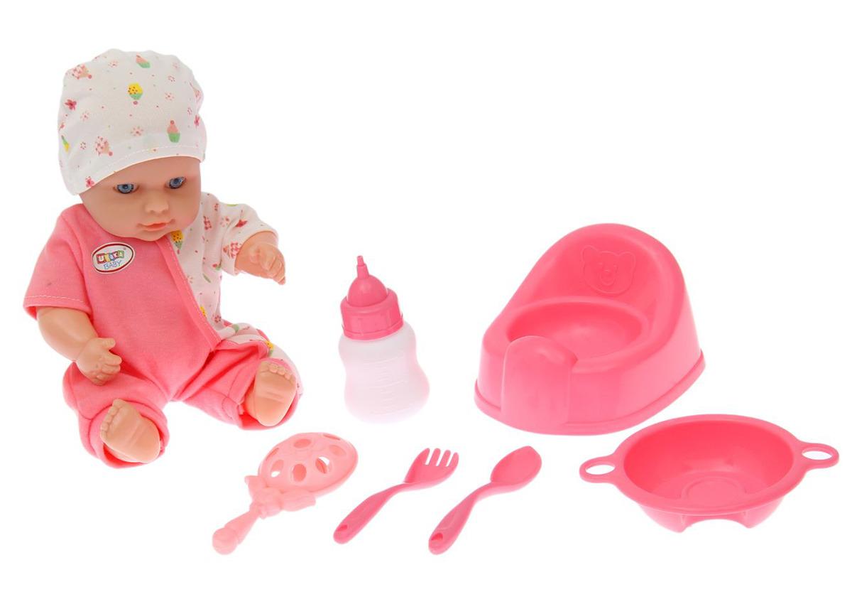 Пупс Нюрочка, 14666431466643Удивительно реалистичная и красивая игрушка очень обрадует малыша. С такой симпатичной крохой можно весело проводить время целый день!