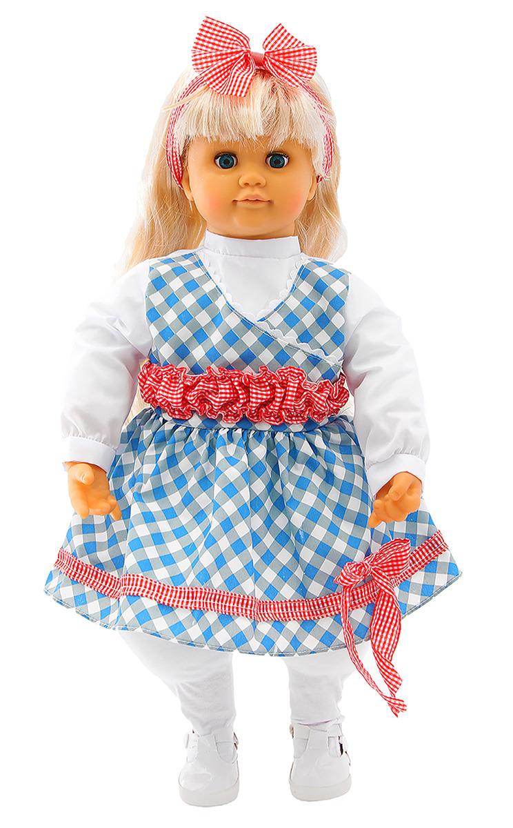 цена на Кукла интерактивная Tongde Настенька, 2291269, 53 см