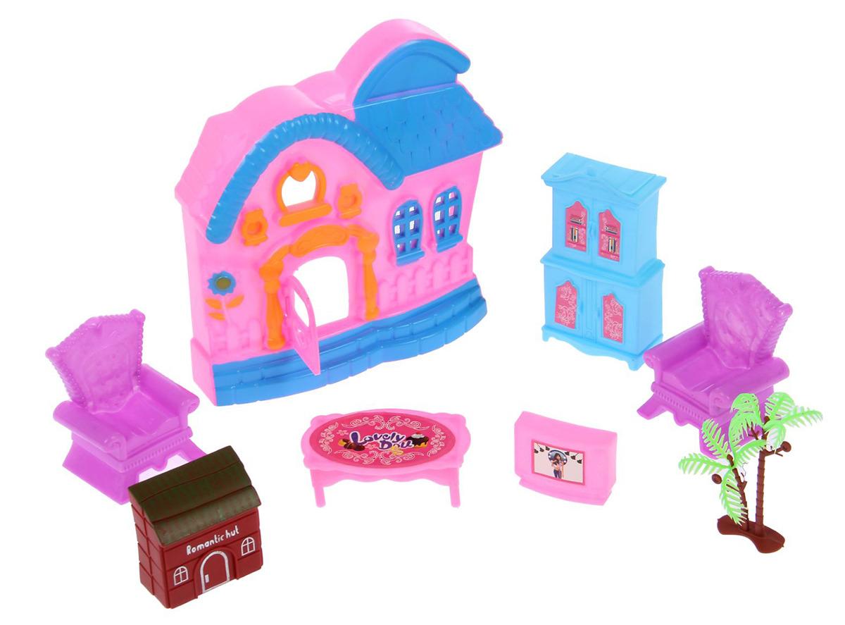 Дом для кукол SL-00332B Мой домик, 2366757, с аксессуарами дом для кукол мой дом алина 4108
