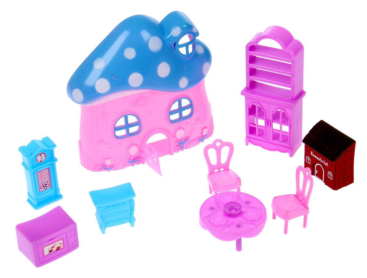 Дом для кукол SL-00332С Мой домик, 2366759, с аксессуарами дом для кукол мой дом алина 4108