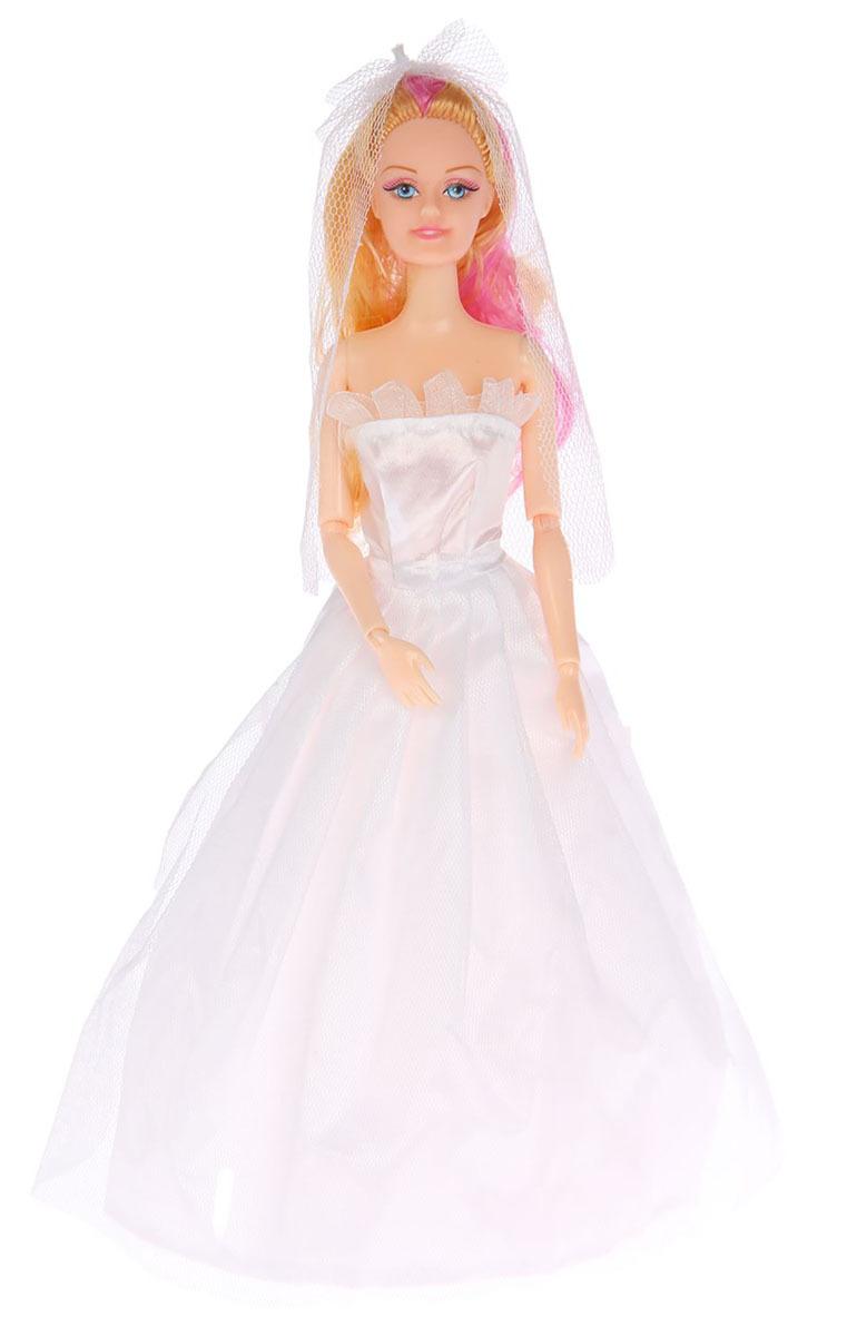 """Кукла модель шарнирная №SL-00277A """"Принцесса на свадьбе"""", 2367168, с аксессуарами, 29 см"""