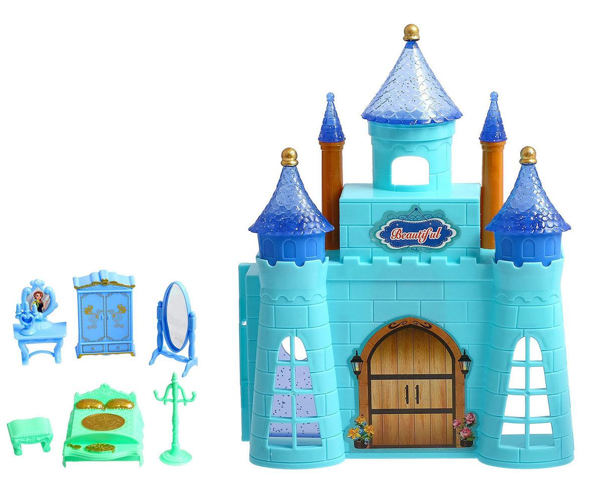 Замок для кукол, 2605011, с аксессуарами микс